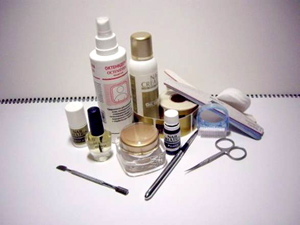 инструменты для наращивания ногтей гелем