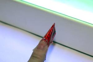 Сушим гель в УФ-лампе