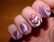 Готовый рисунок на ногтях