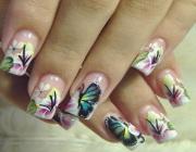 Нейл арт бабочки