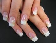 Квадратные ногти короткие