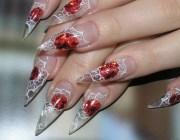 Аквариум наращивание ногтей