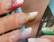 Красивое наращивание ногтей