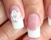 Акриловые ногти френч
