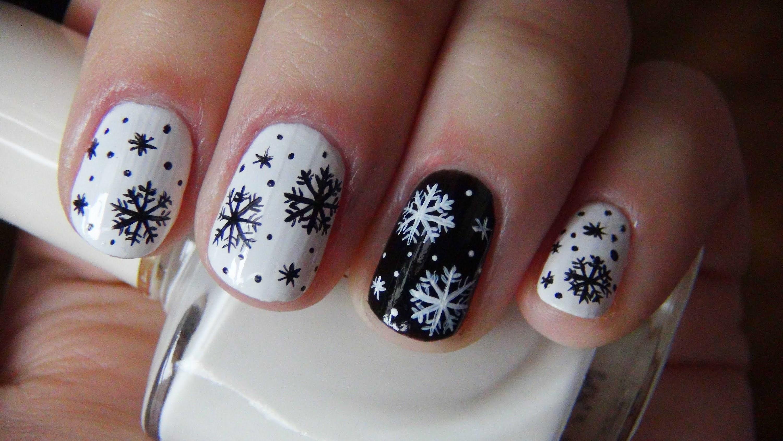 Дизайн ногтей новогодний 2016 год