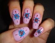 Дизайн ногтей иголкой
