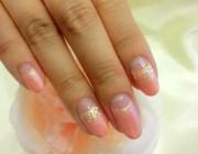 как накладывать блестки на ногти