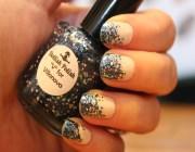 блестки для ногтей как использовать
