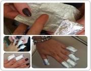 Чем стирать гель лак с ногтей
