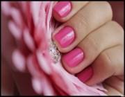 Скругленный квадрат на коротких ногтях
