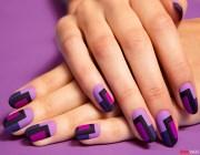 Маникюр в фиолетовых тонах