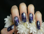 Рисунки на ногтях новогодние