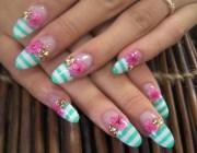 Нарощенные ногти овальной формы