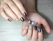 Маникюр на овальных ногтях