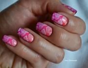 Рисунки на ногтях с помощью стемпинга