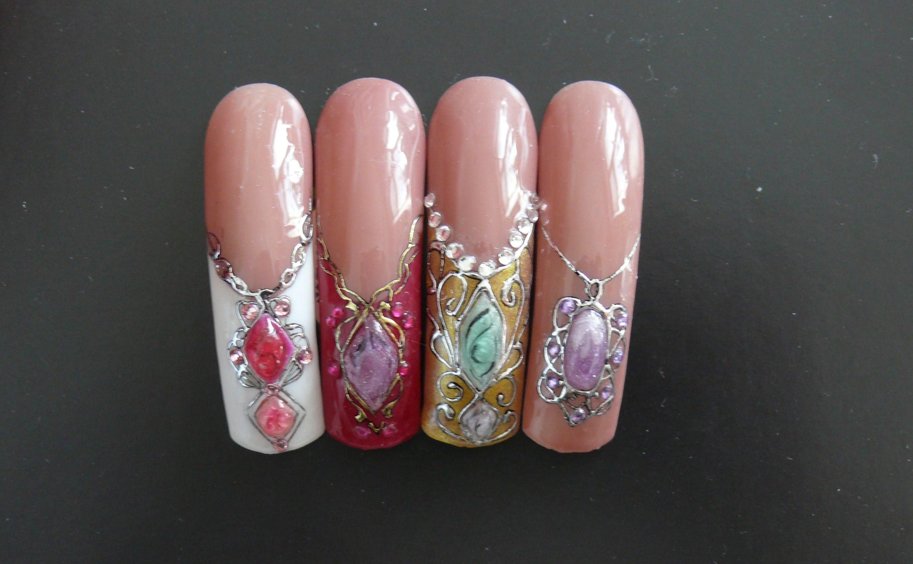 Ногти дизайн с камнями фото