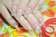 Прозрачные ногти