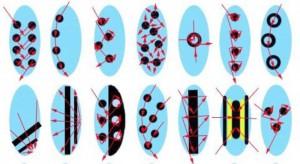Как делать рисунки на ногтях иголкой
