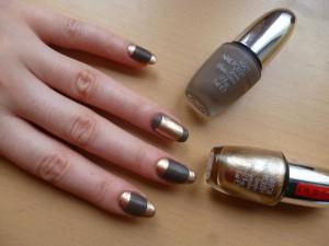 Лак для ногтей зеркальный эффект