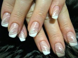 гелевые нарощенные ногти фото