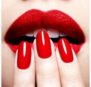 нарощенные красные ногти фото