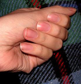 Трапециевидная форма ногтей