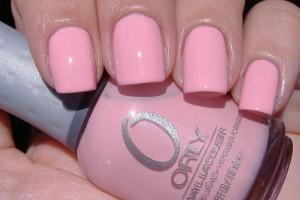 orly лак для ногтей розовый