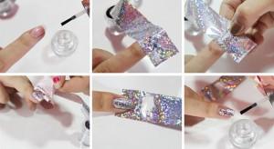отрывная фольга для ногтей