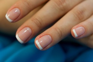 Ногти после укрепления йодом