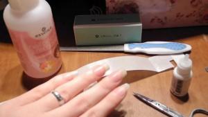 Ремонт трещины на ногтях рук