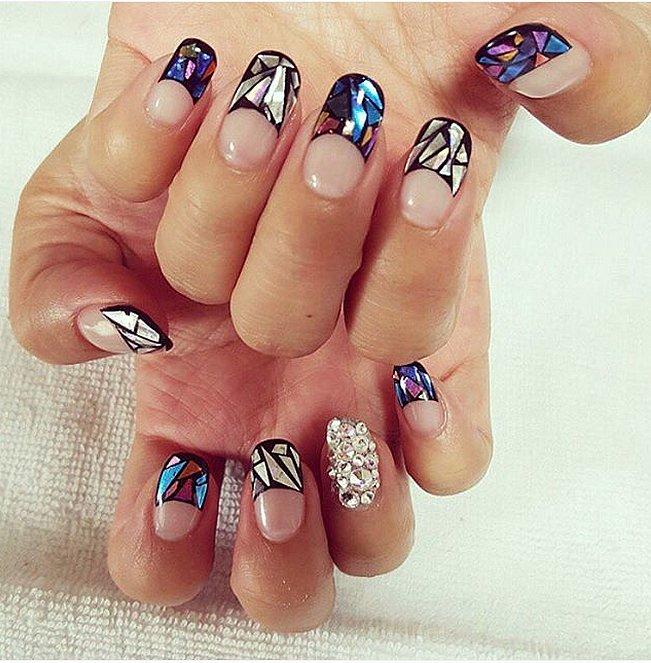 Glass-Nail-Art