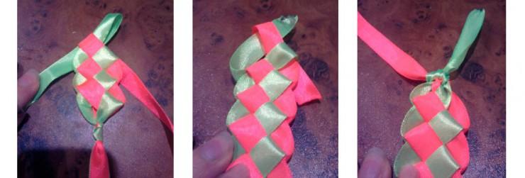 Как сделать плоский браслет 2