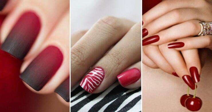 Тонкости стиля: какой цвет лака идеально подходит к красному платью