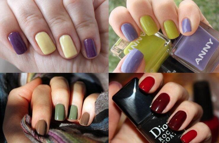 Как подобрать цветовую гамму для маникюра на коротких ногтях