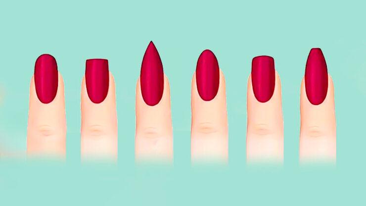 Как понять, какая форма ногтей вам подходит